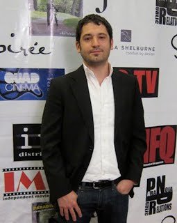 Frank Cappiello on the red carpet at the New York International Film Festival